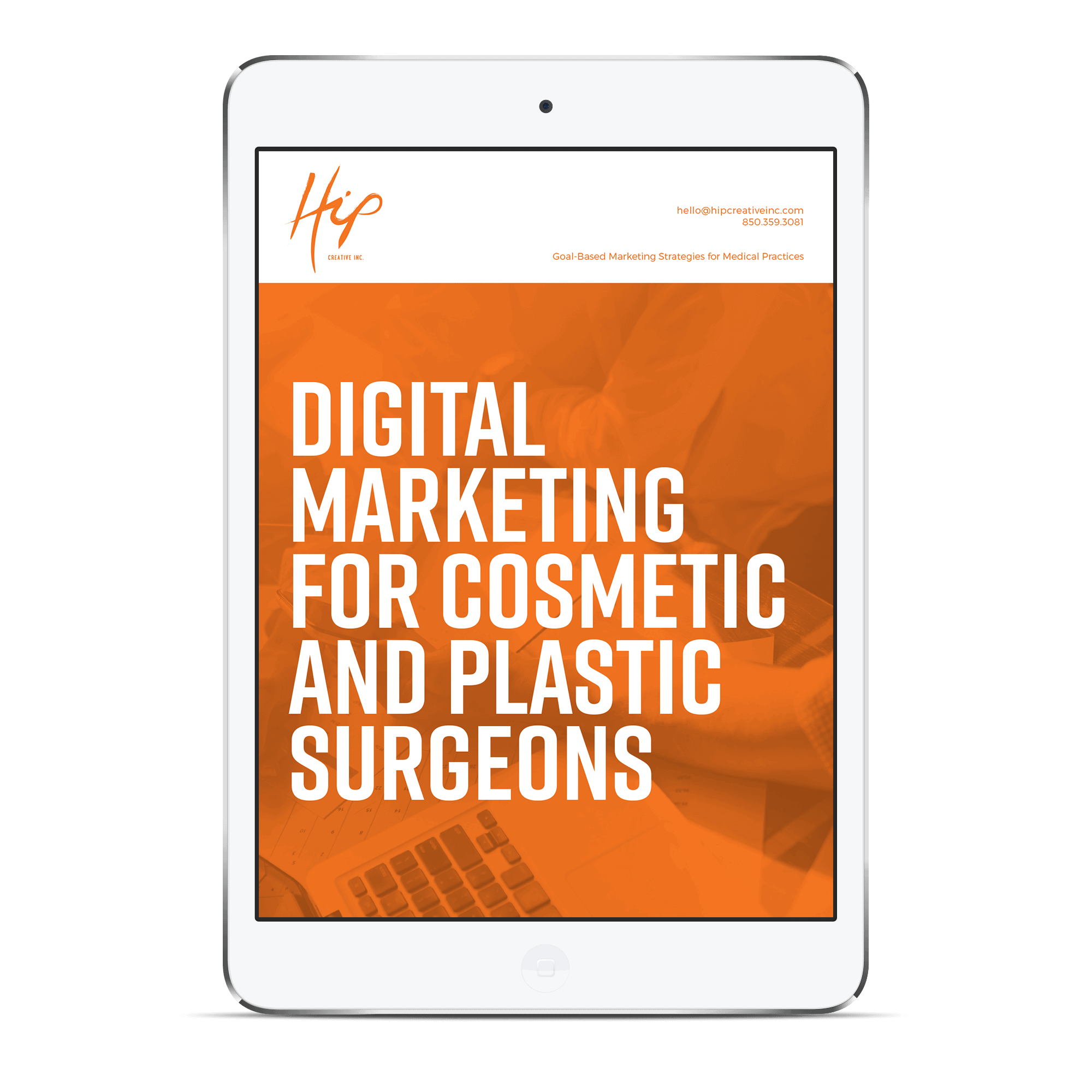 Digital Marketing for Cosmetic and Plastic Surgeons iPad