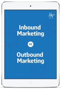 Inbound Marketing vs. Outbound Marketing ipad