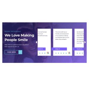 Reviews On A Dental Website